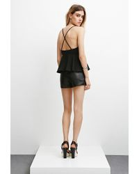 Forever 21 - Black The Fifth Label Join The Ride Cami - Lyst