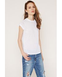 Forever 21 | White Contemporary Classic Knit Tee | Lyst