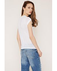Forever 21 - White Contemporary Classic Knit Tee - Lyst