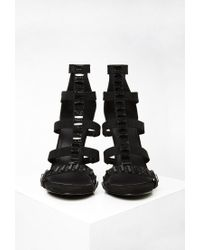 Forever 21 - Black Embellished Faux Suede Pumps - Lyst