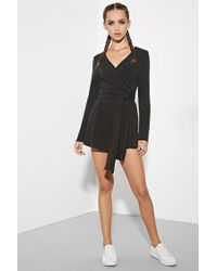 Forever 21 - Black The Fifth Label Just For Now Romper - Lyst
