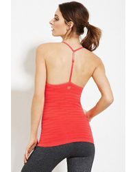 Forever 21 - Pink Seamless Athletic Cami - Lyst