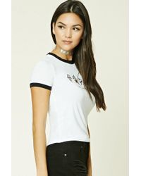 Forever 21 - White Currently Graphic Tee - Lyst