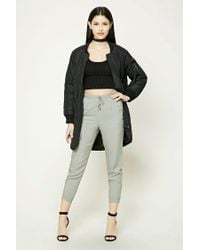 Forever 21   Green Woven Drawstring Joggers   Lyst