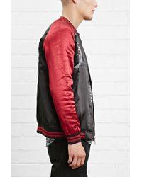 Forever 21 - Black Standard Issue Souvenir Jacket for Men - Lyst