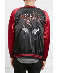 Forever 21 - Black Standard Issue Souvenir Jacket for Men - Lyst