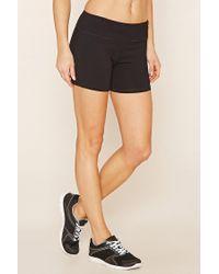 Forever 21 | Black Active Yoga Shorts | Lyst