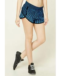 Forever 21 | Multicolor Active Geo Print Shorts | Lyst