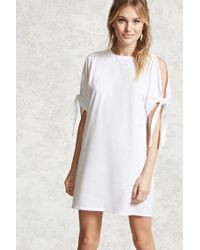Forever 21 | White Contemporary T-shirt Dress | Lyst