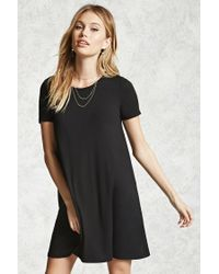 Forever 21 | Black Contemporary T-shirt Dress | Lyst