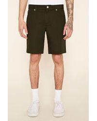 Forever 21 - Green Cotton Shorts for Men - Lyst