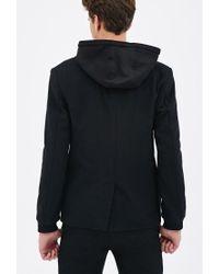 Forever 21 | Black Knit-hooded Coat for Men | Lyst