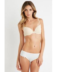 Forever 21 - Natural Light Push-up T-shirt Bra - Lyst