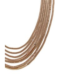 Forever 21 - Metallic Layered Chain Necklace - Lyst