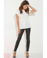 Forever 21 - White Minty Meets Munt Beauty Tee - Lyst