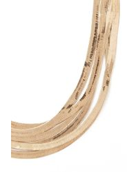 Forever 21 - Metallic Herringbone Chain Necklace - Lyst