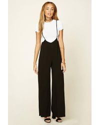 new design elegant and graceful super service Women's Black Wide-leg Cami Jumpsuit