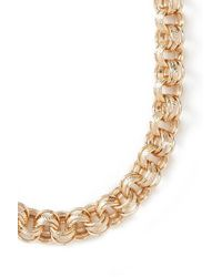 Forever 21 - Metallic Etched Chain Necklace - Lyst