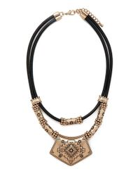 Forever 21 - Metallic -inspired Necklace - Lyst