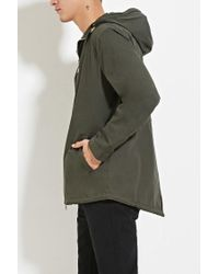 Forever 21 - Green Zipped Utility Jacket for Men - Lyst