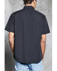 Forever 21 - Black Watermelon Patch Shirt for Men - Lyst