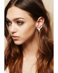 Forever 21 - Metallic Amber Sceats Prism Earrings - Lyst