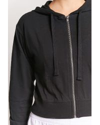 Forever 21 - Black Active Zip-front Jacket - Lyst