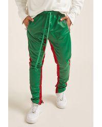 Forever 21 American Stitch Stripe Track Trousers in Green for Men - Lyst dfa3b9a79