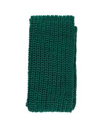 Forever 21 - Green Chunky Ribbed Oblong Scarf - Lyst