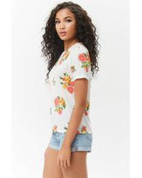 Forever 21 - Multicolor Citrus Fruit Graphic Tee - Lyst
