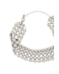 Forever 21 - Metallic Women's Beaded Choker Necklace - Lyst