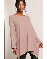 Forever 21 - Purple Ruffled Trapeze Top - Lyst