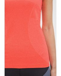 Forever 21 - Red Seamless Athletic Tank - Lyst