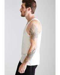 Forever 21 - Natural Flecked Knit Tank for Men - Lyst