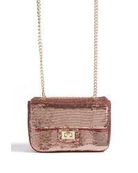 Forever 21 - Pink Sequin Crossbody Bag - Lyst