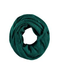 Forever 21 - Green Fuzzy Knit Infinity Scarf - Lyst