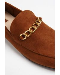Forever 21 - Brown Faux Suede Loafers - Lyst