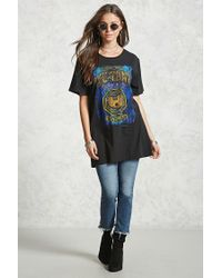 Forever 21 - Blue Wu-tang Band Tee - Lyst