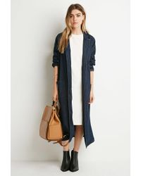Forever 21 - Natural Boxy T-shirt Dress - Lyst
