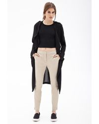 Forever 21 - Natural Classic Woven Trousers - Lyst