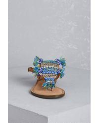 Forever 21 - Blue Studio Caleidoscope Beaded Sandals - Lyst