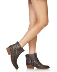 Forever 21 - Gray Western Warrior Booties - Lyst