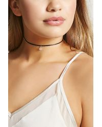 Forever 21 - Natural Beaded Layered Choker - Lyst