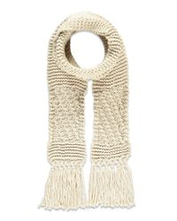 Forever 21 - Natural Chunky Ribbed Scarf - Lyst