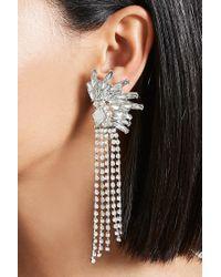 Forever 21 - Metallic Cluster Fringe Duster Earrings - Lyst