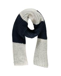 Forever 21 - Blue Longline Striped Oblong Scarf - Lyst