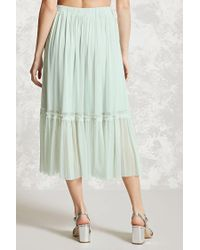 Forever 21 | Multicolor Contemporary Tulle Skirt | Lyst