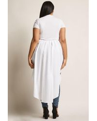 Forever 21 - White Plus Size High-low Top - Lyst