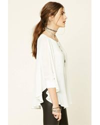 Forever 21 - Multicolor Dolman-sleeve Cape Top - Lyst
