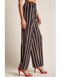 Forever 21 - Black Rd & Koko Multicolor Stripe Pants - Lyst